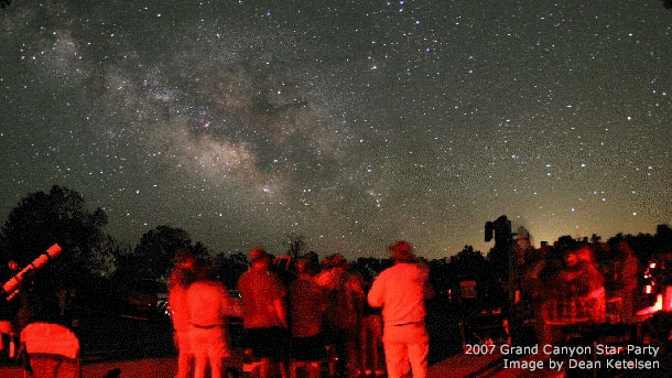 star Amateur party astronomy