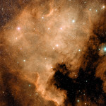 North America Nebula, visible light. Image: Hubble Space Telescope