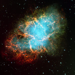 Powerful tendrils of gas are M1, excited by the pulsar at the nebulas' heart NASA Image