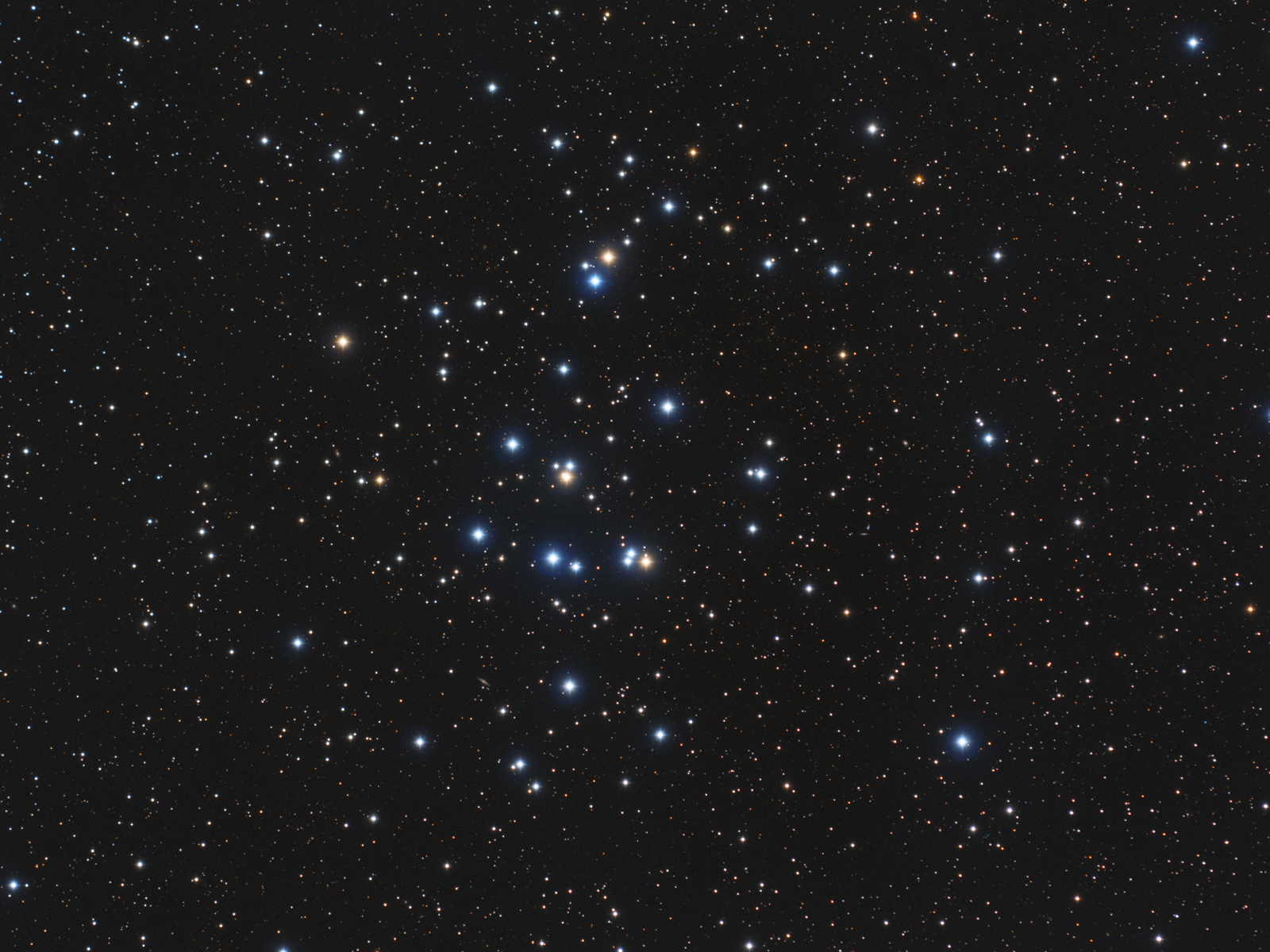 The Hyades (M44) in Cancer is one of the closest open cluster to Earth